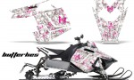 Polaris RUSH AMR Graphics Kit BF PW 150x90 - Polaris PRO RMK RUSH 2011-2014 Graphics