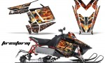 Polaris RUSH AMR Graphics Kit FS B 150x90 - Polaris PRO RMK RUSH 2011-2014 Graphics