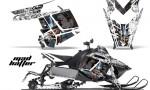 Polaris RUSH AMR Graphics Kit MH WB 150x90 - Polaris PRO RMK RUSH 2011-2014 Graphics