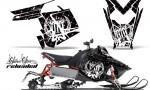 Polaris RUSH AMR Graphics Kit SSR WB 150x90 - Polaris PRO RMK RUSH 2011-2014 Graphics