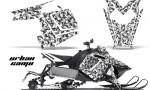 Polaris RUSH AMR Graphics Kit UC W 150x90 - Polaris PRO RMK RUSH 2011-2014 Graphics