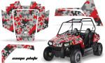 Polaris RZR 170 AMR Graphic Kit CP R 150x90 - Polaris Youth RZR 170 Graphics