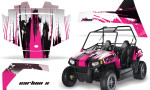 Polaris RZR 170 AMR Graphic Kit CarbonX Pink 150x90 - Polaris Youth RZR 170 Graphics