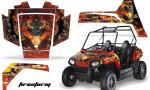 Polaris RZR 170 AMR Graphic Kit FS R 150x90 - Polaris Youth RZR 170 Graphics