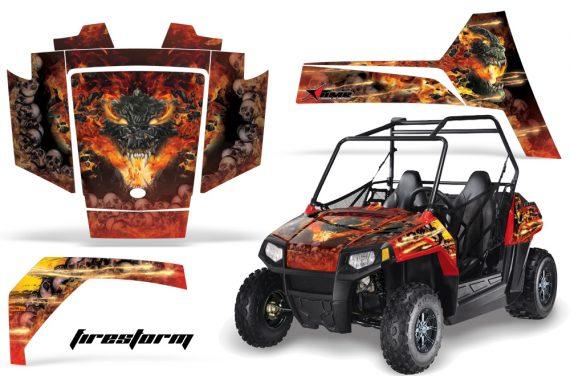 Polaris RZR 170 AMR Graphic Kit FS R 570x376 - Polaris Youth RZR 170 Graphics