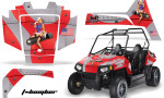 Polaris RZR 170 AMR Graphic Kit TB R 150x90 - Polaris Youth RZR 170 Graphics