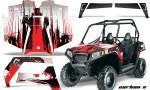 Polaris RZR 570 AMR Graphics Kit CX R 150x90 - Polaris RZR 570 UTV Graphics