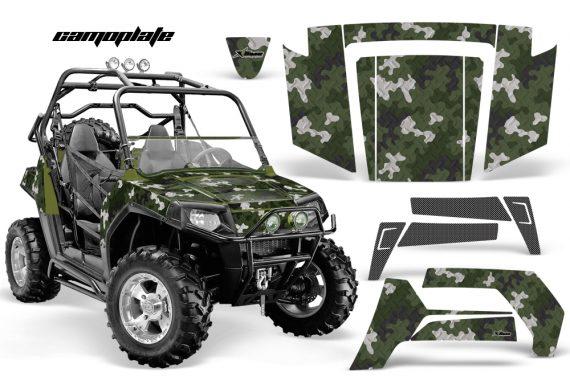 Polaris RZR 800 06 10 AMR Graphic Kit ARMY GREEN Camoplate 570x376 - Polaris RZR 800 800s 2006-2010 Graphics