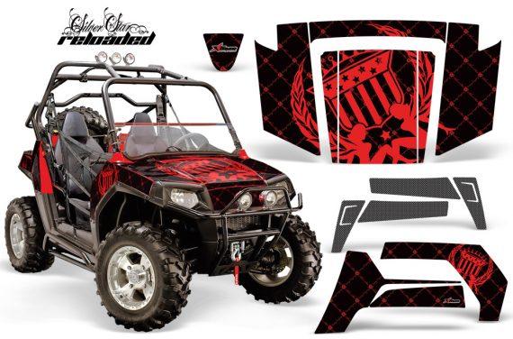 Polaris RZR 800 06 10 AMR Graphic Kit RED BLACKBG Reloaded 570x376 - Polaris RZR 800 800s 2006-2010 Graphics
