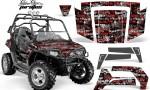 Polaris RZR 800 06 10 AMR Graphic Kit RED BLACKBG Silverhaze 150x90 - Polaris RZR 800 800s 2006-2010 Graphics