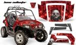 Polaris RZR 800 06 10 AMR Graphic Kit RED BoneCollector 150x90 - Polaris RZR 800 800s 2006-2010 Graphics