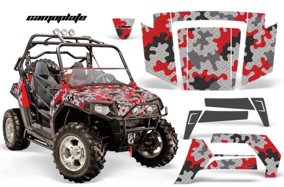 Polaris RZR 800 06 10 AMR Graphic Kit RED Camoplate 570x376 - Polaris RZR 800 800s 2006-2010 Graphics