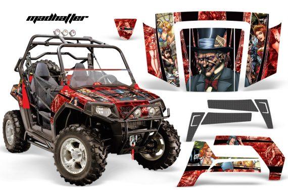 Polaris RZR 800 06 10 AMR Graphic Kit RED Madhatter 570x376 - Polaris RZR 800 800s 2006-2010 Graphics