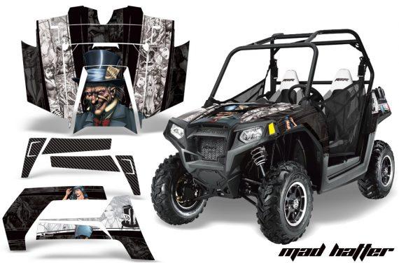 Polaris RZR 800 11 12 AMR Graphic Kit MH BW 570x376 - Polaris RZR 800 800s 2011-2014 Graphics