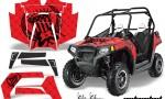 Polaris RZR 800 11 12 AMR Graphic Kit SSR BR 150x90 - Polaris RZR 800 800s 2011-2014 Graphics
