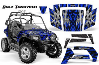 Polaris-RZR-800-2006-2010-CreatorX-Graphics-Kit-Bolt-Thrower-Blue