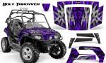 Polaris RZR 800 2006 2010 CreatorX Graphics Kit Bolt Thrower Purple 150x90 - Polaris RZR 800 800s 2006-2010 Graphics