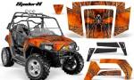 Polaris RZR 800 2006 2010 CreatorX Graphics Kit SpiderX Orange Custom 150x90 - Polaris RZR 800 800s 2006-2010 Graphics