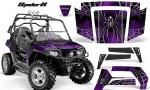 Polaris RZR 800 2006 2010 CreatorX Graphics Kit SpiderX Purple 150x90 - Polaris RZR 800 800s 2006-2010 Graphics