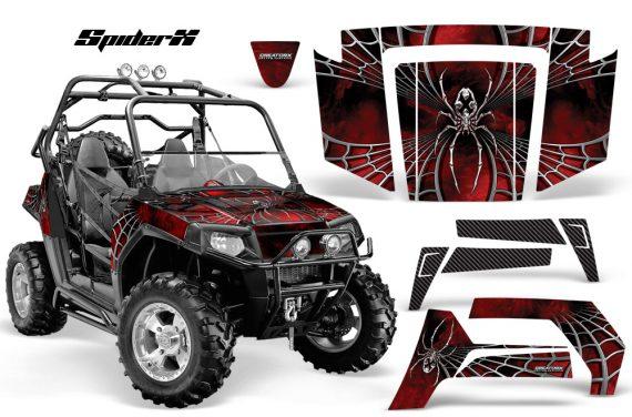 Polaris RZR 800 2006 2010 CreatorX Graphics Kit SpiderX Red 570x376 - Polaris RZR 800 800s 2006-2010 Graphics