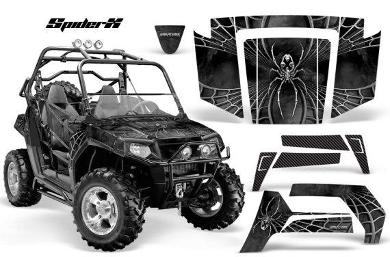 Polaris RZR 800 2006 2010 CreatorX Graphics Kit SpiderX Silver 570x376 - Polaris RZR 800 800s 2006-2010 Graphics