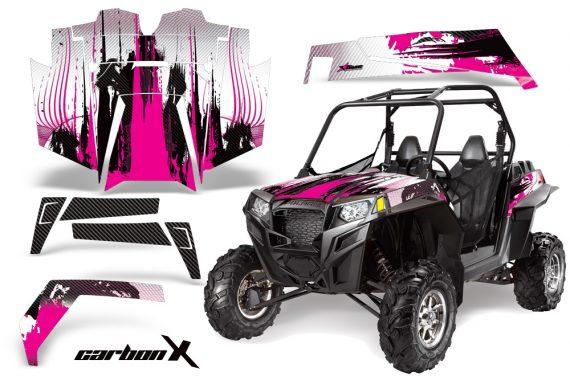 Polaris RZR 900 11 12 AMR Graphic Kit CX Pink 570x376 - Polaris RZR 900 XP UTV 2011-2014 Graphics