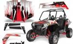 Polaris RZR 900 11 12 AMR Graphic Kit CX R 150x90 - Polaris RZR 900 XP UTV 2011-2014 Graphics