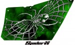 Polaris RZR OEM Door CreatorX Graphics SpiderX Green 150x90 - Polaris XP RZR 800/900 CREATORX Graphics for OEM Polaris Doors