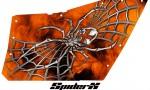 Polaris RZR OEM Door CreatorX Graphics SpiderX Orange 150x90 - Polaris XP RZR 800/900 CREATORX Graphics for OEM Polaris Doors