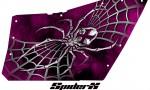 Polaris RZR OEM Door CreatorX Graphics SpiderX Pink 150x90 - Polaris XP RZR 800/900 CREATORX Graphics for OEM Polaris Doors