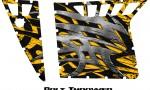 Polaris RZR Pro Armor CreatorX Graphics Bolt Thrower Yellow 150x90 - Polaris RZR 570 800 900 Pro Armor Door CREATORX Graphics Kit