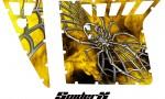 Polaris RZR Pro Armor CreatorX Graphics SpiderX Yellow 150x90 - Polaris RZR 570 800 900 Pro Armor Door CREATORX Graphics Kit