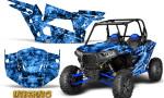 Polaris RZR XP 1000 CREATORX Graphics Kit Inferno Blue 150x90 - Polaris RZR 1000 XP 2013+ Graphics