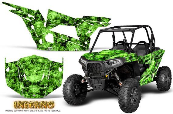 Polaris-RZR-XP-1000-CREATORX-Graphics-Kit-Inferno-Green