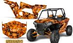 Polaris RZR XP 1000 CREATORX Graphics Kit Inferno Orange 150x90 - Polaris RZR 1000 XP 2013+ Graphics