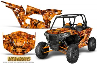 Polaris RZR XP 1000 CREATORX Graphics Kit Inferno Orange 320x211 - Polaris RZR 1000 XP 2013-2016 Graphics