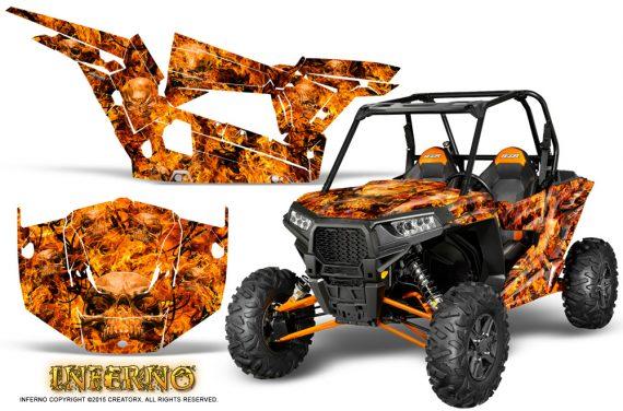 Polaris-RZR-XP-1000-CREATORX-Graphics-Kit-Inferno-Orange