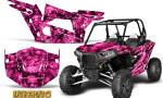 Polaris RZR XP 1000 CREATORX Graphics Kit Inferno Pink 150x90 - Polaris RZR 1000 XP 2013+ Graphics