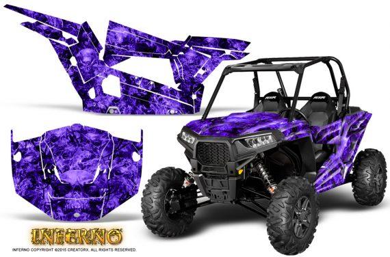 Polaris-RZR-XP-1000-CREATORX-Graphics-Kit-Inferno-Purple