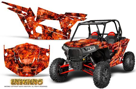 Polaris-RZR-XP-1000-CREATORX-Graphics-Kit-Inferno-Red