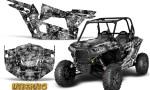 Polaris RZR XP 1000 CREATORX Graphics Kit Inferno Silver 150x90 - Polaris RZR 1000 XP 2013+ Graphics