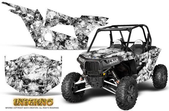 Polaris-RZR-XP-1000-CREATORX-Graphics-Kit-Inferno-White
