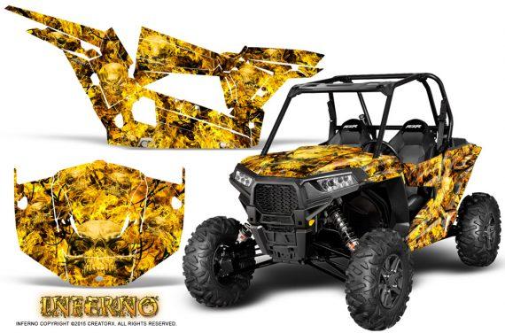 Polaris-RZR-XP-1000-CREATORX-Graphics-Kit-Inferno-Yellow