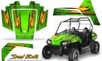 Polaris RZR170 CREATORX Graphics Kit Speed Bolts Green 150x90 - Polaris Youth RZR 170 Graphics