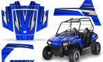 Polaris RZR170 CREATORX Graphics Kit SpeedX Blue 150x90 - Polaris Youth RZR 170 Graphics