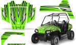 Polaris RZR170 CREATORX Graphics Kit SpeedX Green 150x90 - Polaris Youth RZR 170 Graphics