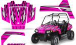 Polaris RZR170 CREATORX Graphics Kit SpeedX Pink 150x90 - Polaris Youth RZR 170 Graphics