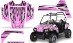 Polaris RZR170 CREATORX Graphics Kit SpeedX PinkLite 150x90 - Polaris Youth RZR 170 Graphics