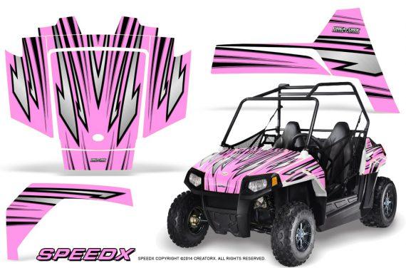 Polaris RZR170 CREATORX Graphics Kit SpeedX PinkLite 570x376 - Polaris Youth RZR 170 Graphics