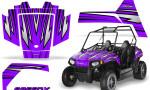 Polaris RZR170 CREATORX Graphics Kit SpeedX Purple 150x90 - Polaris Youth RZR 170 Graphics